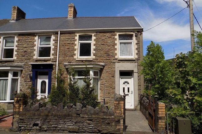 Thumbnail End terrace house for sale in Ynys Y Gwas, Cwmavon, Port Talbot, Neath Port Talbot.