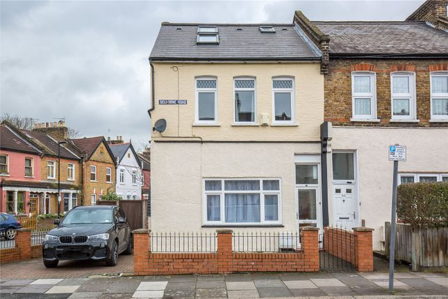 Thumbnail End terrace house for sale in Selborne Road, London