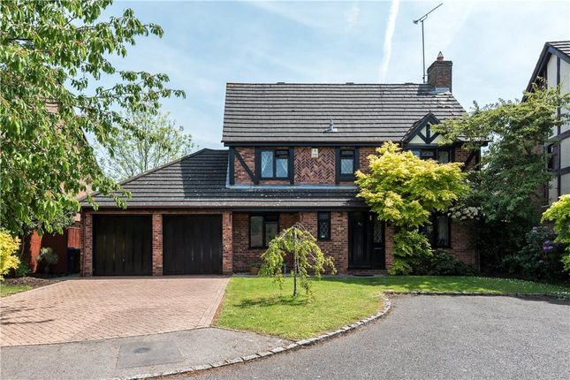 Thumbnail Detached house for sale in Lowry Close, College Town, Sandhurst, Berkshire