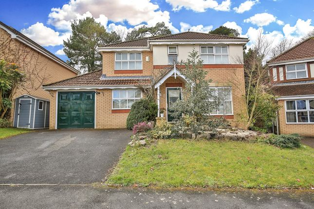 Thumbnail Detached house for sale in Hastings Crescent, Old St. Mellons, Cardiff