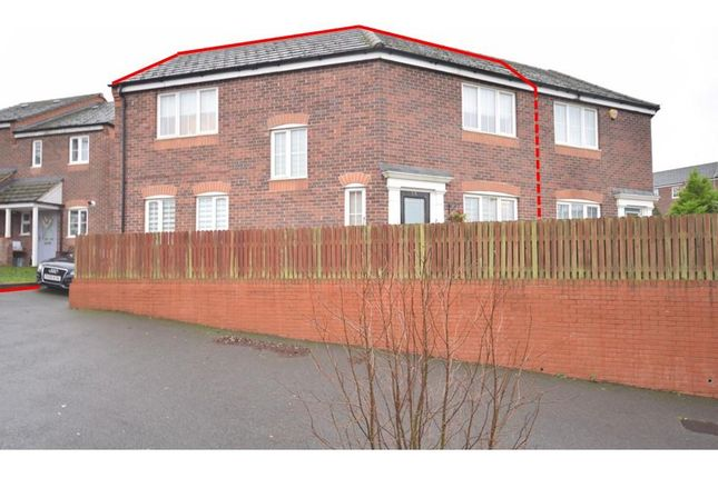3 bed semi-detached house for sale in Lowry Close, Corby NN18