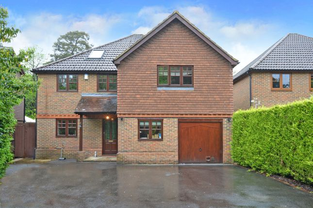 Thumbnail Detached house for sale in Clewborough Drive, Camberley