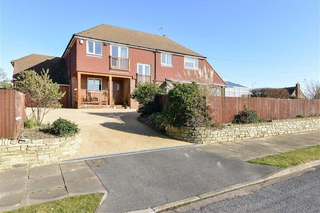 Thumbnail Detached house for sale in South Cliff Avenue, Bexhill On Sea, East Sussex