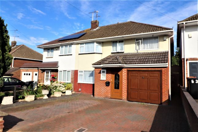 Thumbnail Semi-detached house for sale in Canesworde Road, Dunstable