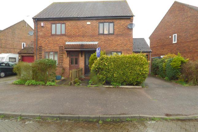 Thumbnail Semi-detached house to rent in Wadesmill Lane, Caldecotte, Milton Keynes