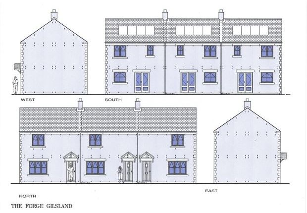 Thumbnail Terraced house for sale in The Forge, Gilsland, Cumbria.