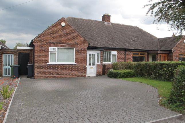 Thumbnail Semi-detached bungalow for sale in Ebrington Avenue, Solihull