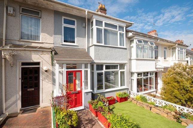 Thumbnail Terraced house for sale in Green Park Avenue, Mutley, Plymouth