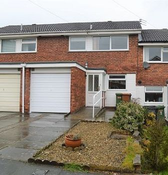 Thumbnail Town house to rent in Gleneagles Close, Pensby, Wirral