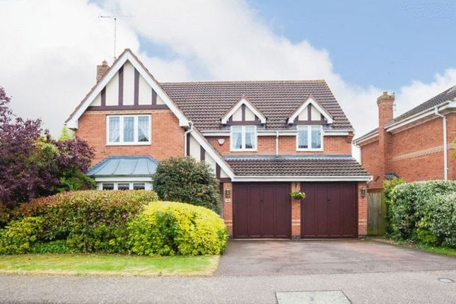 Thumbnail Detached house for sale in Moorhen Way, Buckingham