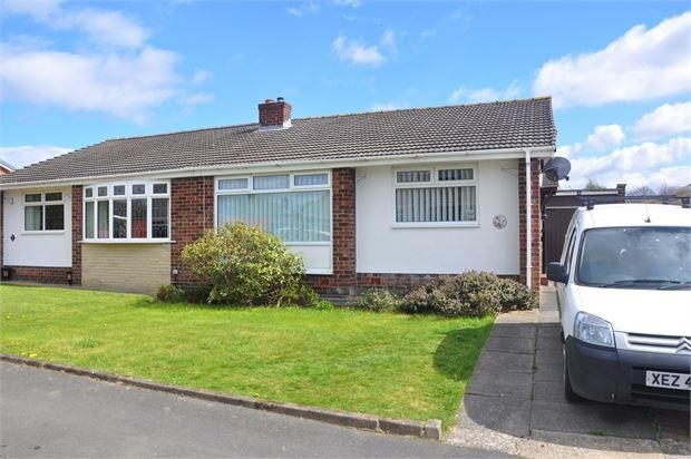 Thumbnail Semi-detached bungalow to rent in Cottersdale Gardens, Chapel House, Newcastle Upon Tyne.