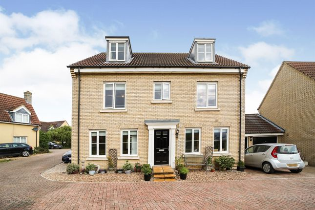 Thumbnail Detached house for sale in Woodpecker Way, Great Cambourne, Cambridge