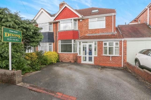 Semi-detached house for sale in Arundel Crescent, Solihull, West Midlands, .