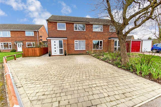 3 bed semi-detached house for sale in Chequers Close, Fenstanton, Huntingdon, Cambridgeshire PE28