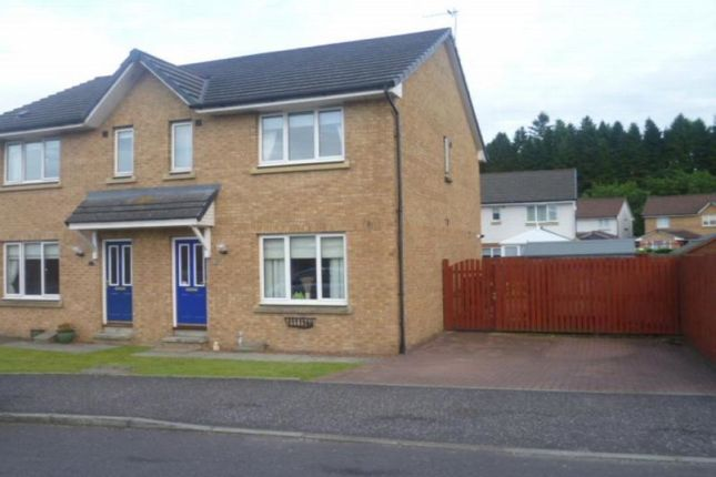 Thumbnail Semi-detached house to rent in Canonbie Avenue, East Kilbride, Glasgow