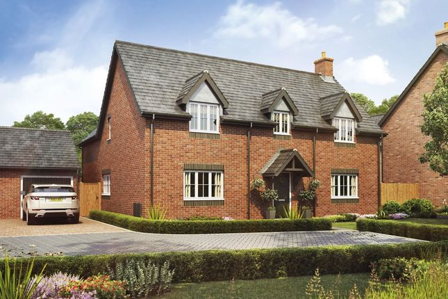 Thumbnail Detached house for sale in Bramshall Road, Uttoxeter, Staffordshire