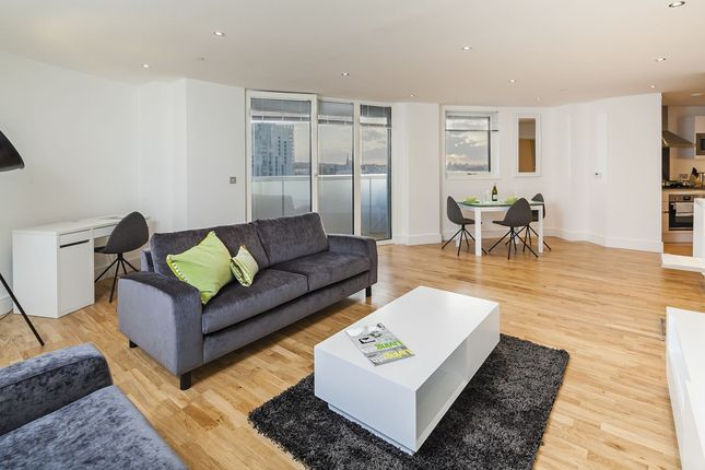 2 bed flat to rent in Admirals Tower, 8 Dowells Street, New Capital Quay, London SE10