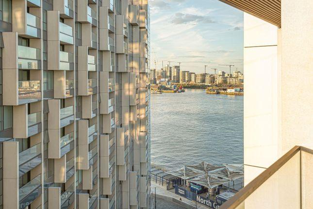 Balcony of No.3, Upper Riverside, Cutter Lane, Greenwich Peninsula SE10