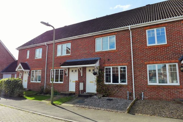 Thumbnail Terraced house to rent in Rykmansford Road, Elvetham Heath, Fleet