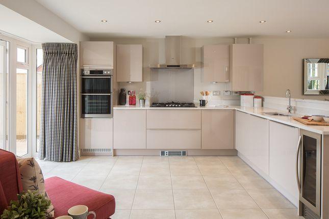 "Thumbnail Detached house for sale in ""Layton"" at Gimson Crescent, Tadpole Garden Village, Swindon"