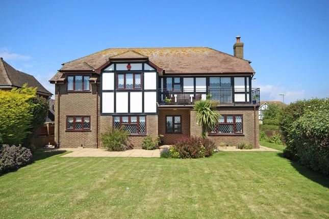 Thumbnail Detached house for sale in Marine Drive, Barton On Sea, New Milton