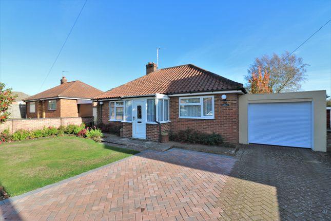 Thumbnail Detached bungalow for sale in Swanton Close, Dereham