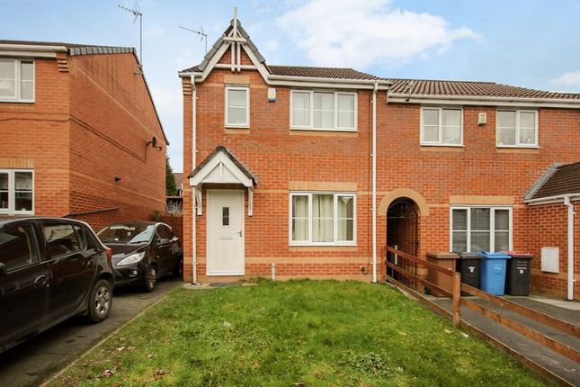 Thumbnail Semi-detached house for sale in Leavale Close, Little Hulton, Manchester