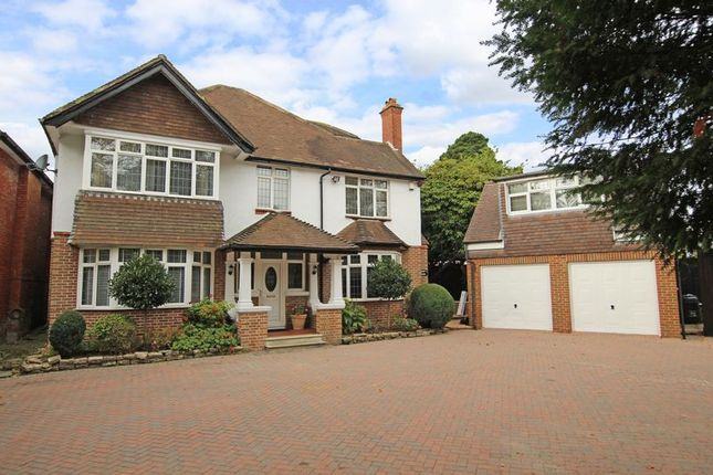 Thumbnail Detached house for sale in Elm Close, Bassett Avenue, Southampton