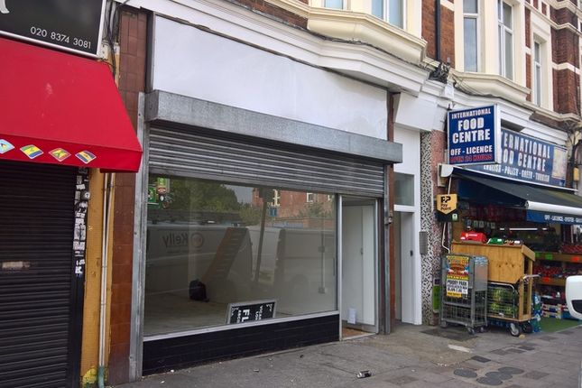 Thumbnail Retail premises to let in Vicarage Parade, West Green Road, London