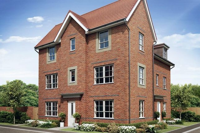 "Thumbnail 3 bed end terrace house for sale in ""Brentford"" at Carters Lane, Kiln Farm, Milton Keynes"