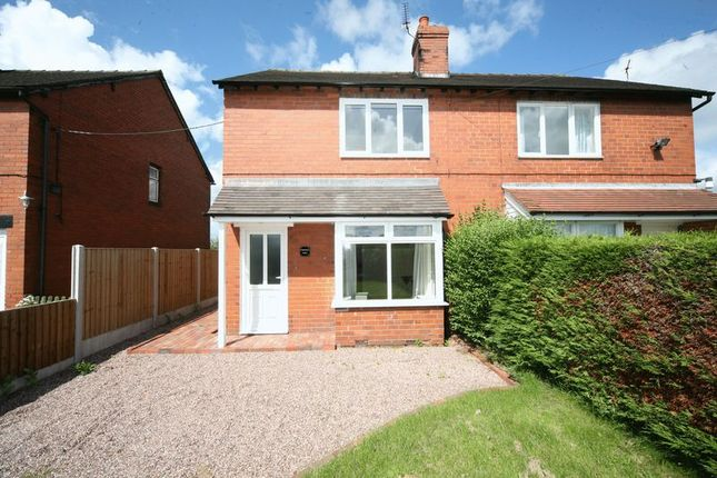 Thumbnail Semi-detached house for sale in Meadow View, Knighton, Near Market Drayton