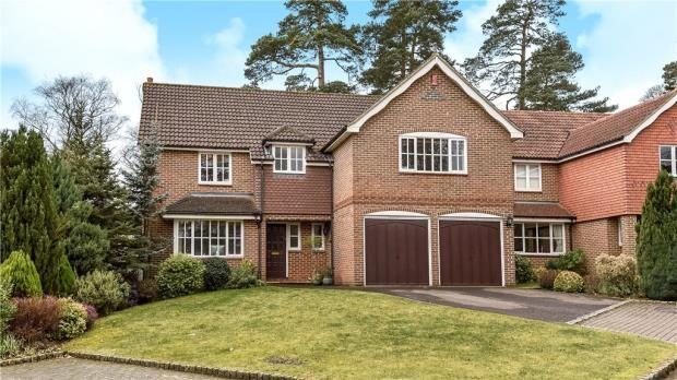 Thumbnail Detached house for sale in The Mallards, Frimley, Camberley