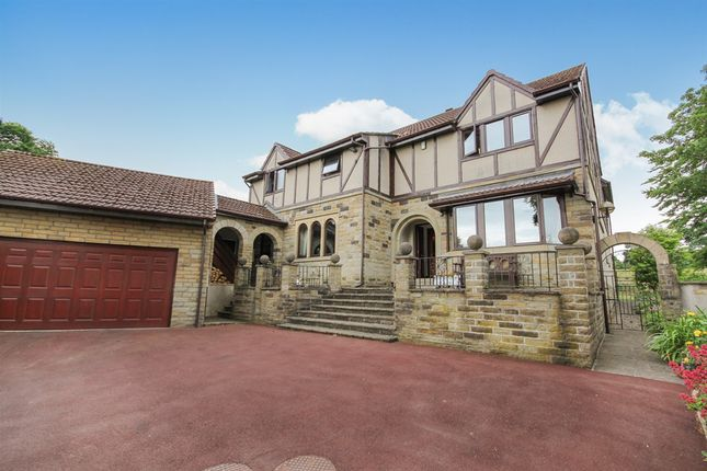 Thumbnail Detached house for sale in Burley Lane, Menston, Ilkley