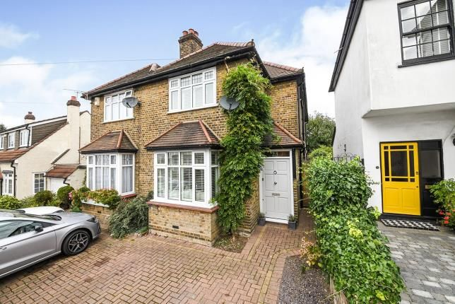 Thumbnail Semi-detached house for sale in Warley, Brentwood, Essex