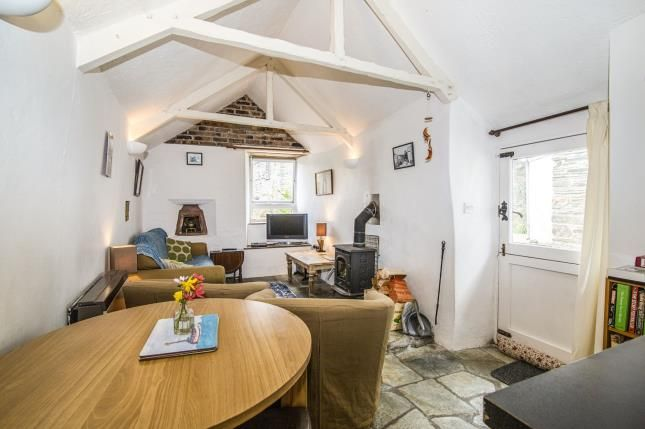 Living Room Of Fore Street Boscastle Cornwall PL35
