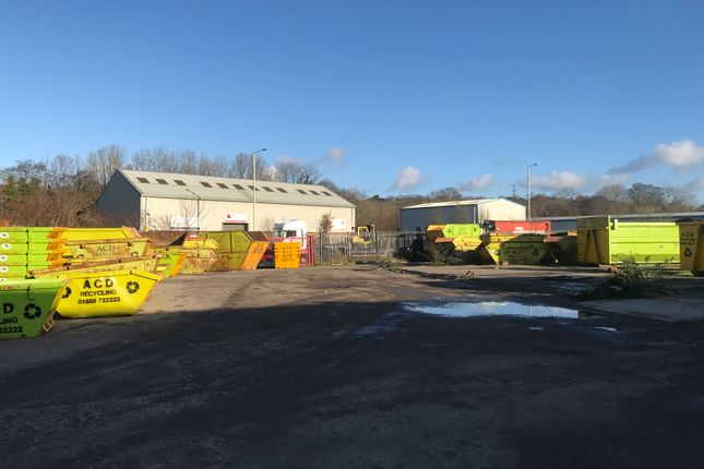 Thumbnail Light industrial for sale in Secure Compound/Commercial Building Land, Unit 8, George Thomas Avenue, Brynmenyn