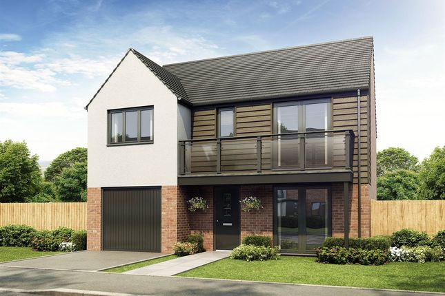 "Thumbnail Detached house for sale in ""The Clayworth"" at Sir Bobby Robson Way, Newcastle Upon Tyne"
