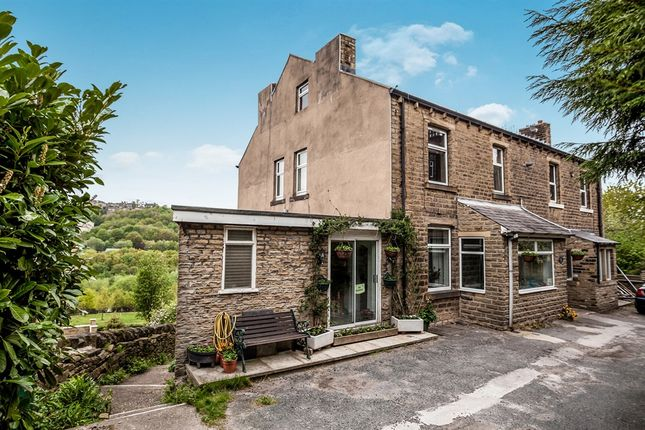 Thumbnail Semi-detached house for sale in Manchester Road, Linthwaite, Huddersfield