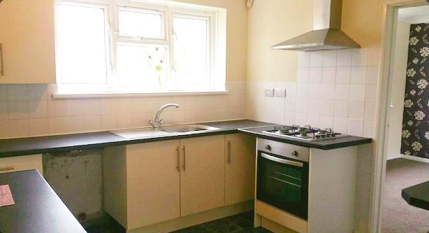 Thumbnail End terrace house to rent in Beckington Close, Longhill