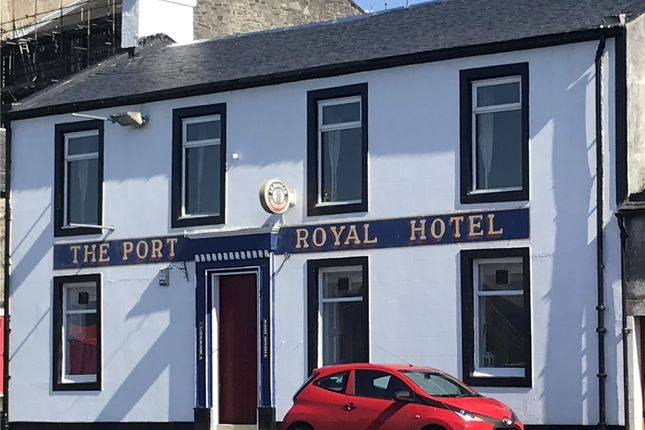 Thumbnail Hotel/guest house for sale in The Port Royal Hotel, 37 Marine Road, Port Bannatyne, Isle Of Bute