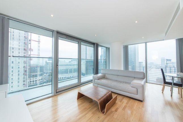 Thumbnail Flat to rent in Marsh Wall, London