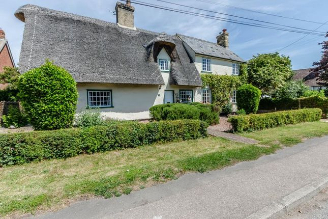 Thumbnail Detached house for sale in Orwell, Royston, Cambridgeshire