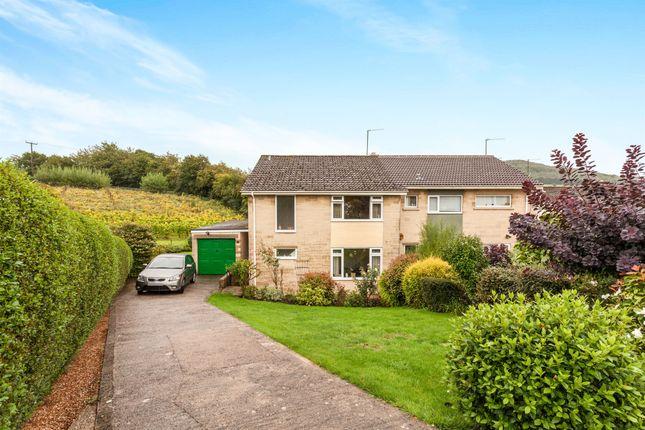 Thumbnail Semi-detached house for sale in Meadow Park, Bathford, Bath