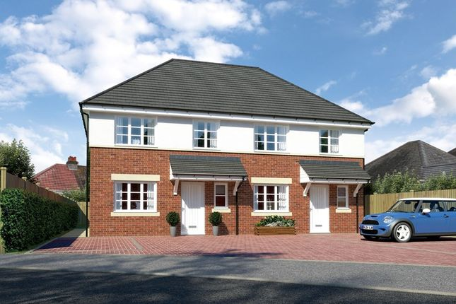 Thumbnail Semi-detached house for sale in Parkstone, Poole, Dorset