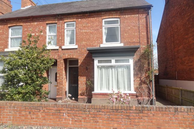 Thumbnail Town house to rent in Station Road, Wem, Shrewsbury
