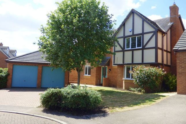 Thumbnail Detached house for sale in Regiment Close, Wootton, Northampton