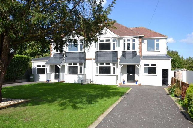 Thumbnail Semi-detached house for sale in Woodside, Wigmore, Gillingham