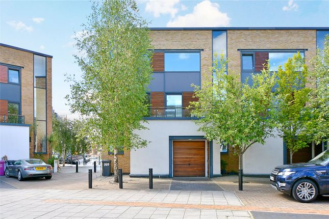 Thumbnail End terrace house to rent in Basin Approach, London