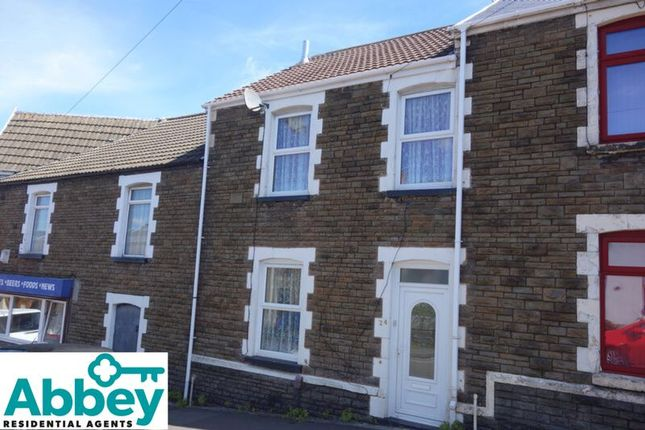 Thumbnail Terraced house for sale in Lewis Road, Neath