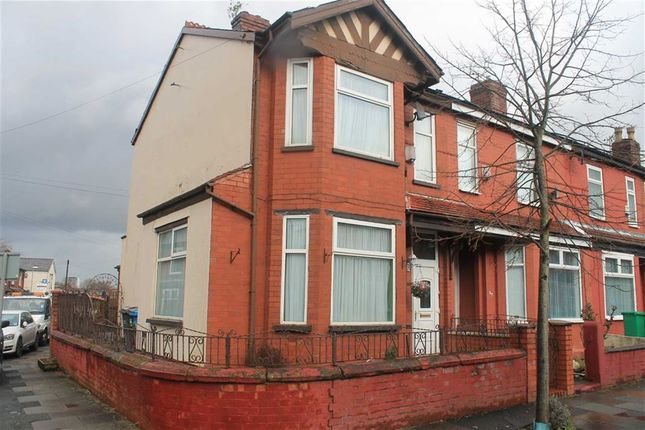 Thumbnail End terrace house for sale in Delamere Rd, Levenshulme, Manchester